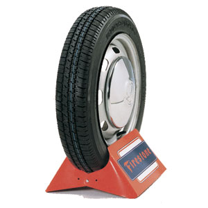 165R15 FIRESTONE F560 BLACKWALL TIRE