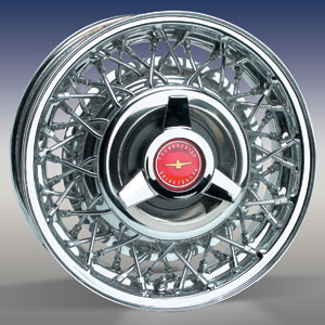 T-BIRD WIRE WHEEL