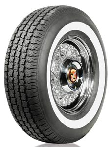 "195/75R-15 AMERICAN CLASSIC 3/4"" WHITEWALL"