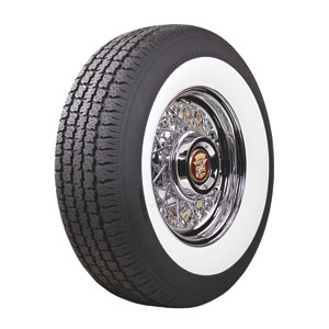 "165R-15 AMERICAN CLASSIC 2 1/4"" WHITEWALL"