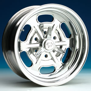 BILLET LAKESTER 6 LUG WHEEL (TWO PIECE)